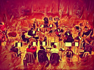 Painted the Orchestra